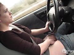Yanks Lou Lebonne Cums in the Car