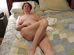 Julie masturbating to orgasm