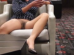 Pantyhose Upskirt Flashing in Public Compilation 1