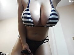 You shoot gallons of cum at the sight of these tits