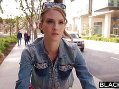 BLACKED Horny Blonde Grad Student Fucks Married BBC