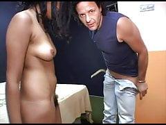 Italian arab girl fucked in a orgy