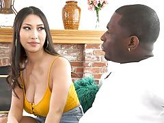 Sharon Lee Craves Personal Guide' Big Black Dick