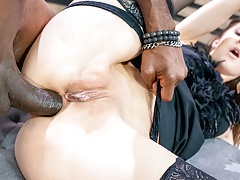 LETSDOEIT Xtreme Rough Anal With BBC For Hot Teen Lina Luxa
