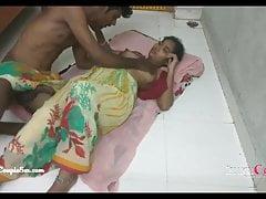 desi indian village telugu couple romance, fucking on the floor