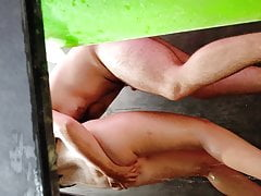 double masturbation - campsite 2020