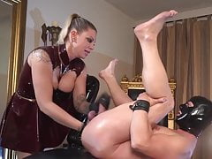 Fisted by beautiful German mistress